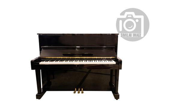 Yamaha U1F Piano used, Black Polished