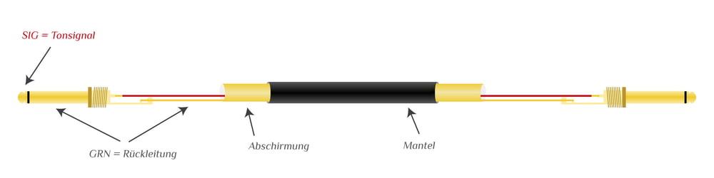 Asymmetrische Signalfuehrung