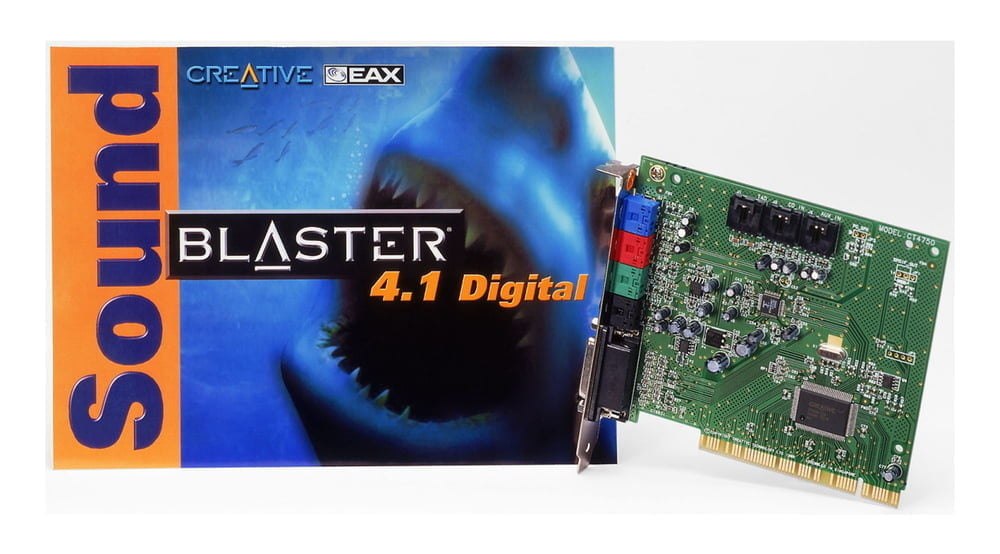 Soundblaster 4.1 digital