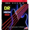 DR Strings HiDef Red Neon Medium 5 45-125
