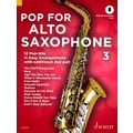 Schott Pop For Alto Saxophone 3