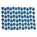 36. Dunlop Tortex Standard 1,0 Blue 72Pcs