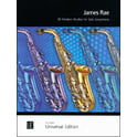 17. Universal Edition 20 Modern Studies For Solo Sax