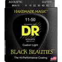 64. DR Strings Black Beauties BKA- 11
