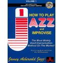 8. Jamey Aebersold Play Jazz Improvise Vol.1 E