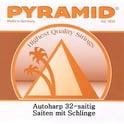 20. Pyramid Autoharp String Set 32