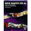 43. Alfred Music Publishing Movie Quartets for All T-Sax