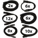 pro snake DMX Cable 5 pin TPD XXL Bundle