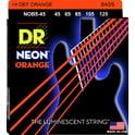 56. DR Strings HiDef Neon Orange NOB-5-45