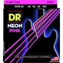 66. DR Strings HiDef Neon Pink NPB-45