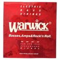 18. Warwick 46210 Red Strings Nickel