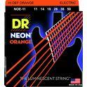 89. DR Strings HiDef Neon Orange Heavy NOE11