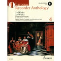 12. Schott Baroque Recorder Anthology 4