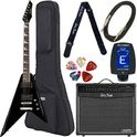 180. Harley Benton R-10 BK Rock Series Bundle 3