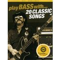 9. Wise Publications Play Bass With 20 Classic Song