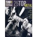 210. Hal Leonard Tab+25 Top Metal Songs