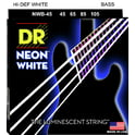 73. DR Strings HiDef White Neon Bass 45/105