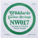 134. Daddario NW017 Single String