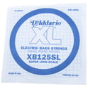 8. Daddario XB125SL Bass Single String