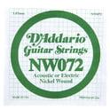 46. Daddario NW072 Single String