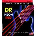 48. DR Strings HiDef Red Neon Medium 5 45-125