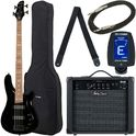 5. Harley Benton B-450 Black Bundle 1