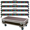 45. Stairville Show Bar Tri LED Tour Bundle 4