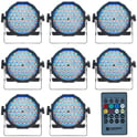 Cameo Flat PAR RGB 10 Maxi Bundle