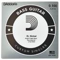 39. Daddario XLB100 Bass XL Single String