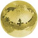 19. Eurolite Mirror Ball 30 cm gold