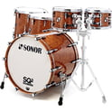 28. Sonor SQ2 Rock Set Maple Walnut Root