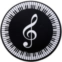 93. AIM Gifts Mouse Pad Treble Clef/Keyboard