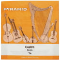 353. Pyramid Cuatro Nylon Strings d-f-a-c