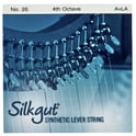 37. Bow Brand Silkgut 4th A Harp Str. No.26