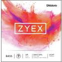 32. Daddario DZ612-3/4L Zyex Bass D light