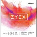15. Daddario DZ611-3/4M Zyex Bass G med.