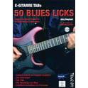 73. Tunesday Records 50 Blues Licks Buch / DVD