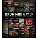 16. Toontrack Drum Midi 6 Pack