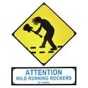 71. Millenium Rockers Sign