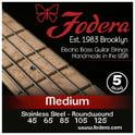 86. Fodera 5-String Set Med SS XL Taper B