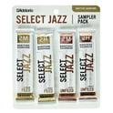 52. DAddario Woodwinds Select Jazz Bari Sampler Pck 2