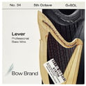 58. Bow Brand BWP 5th G Harp Bass Wire No.34