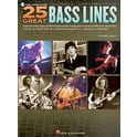 32. Hal Leonard 25 Great Bass Lines