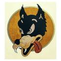 7. Jockomo JG Wolf Sticker