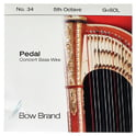 30. Bow Brand Pedal Wire 5th G String No.34