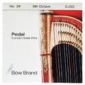 40. Bow Brand Pedal Wire 6th C String No.38