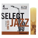 374. DAddario Woodwinds Select Jazz Unfiled Alto 4M