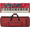 34. Clavia Nord Electro 6D 61 Bag Bundle