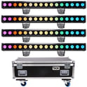 Stairville Show Bar Pro 16x10W RGB Bundle
