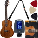 Luna Guitars Ukulele Concert Tattoo Set E
